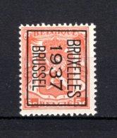 PRE324B MNH** 1937 - BRUXELLES 1937 BRUSSEL - Préoblitérés