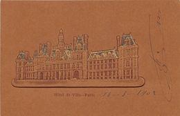 PARIS - 4ème Arrond - Hôtel De Ville - 1902 - (carte Gaufrée) - Arrondissement: 04