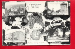 Souvenir D'ARBOIS - A Arbois On Y Rit On Y Chante - Vins Blancs Et Rouges Renommés - Arbois