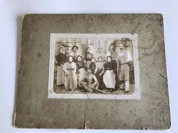 PHOTO Grand Format - Ouvriers Mixtes Dans Un Atelier - K. HUGO - ST ETIENNE - Photos