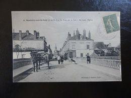 225- CPA, Montoire Sur Le Loir , Le Pont Sur Le Loir - Montoire-sur-le-Loir