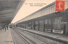 PARIS - Le Métropolitain - Gare D'Allemagne - Métro Parisien, Gares
