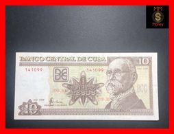 CUBA  10 Pesos  1998  P. 117  AU \ UNC - Cuba