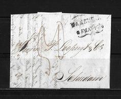 1830 Forwarded  → Brief Aus Eseneur Dänemark Nach Schiedam Holland / Forwarding-Agent Schenk & Co.   ►RAR◄ - Danimarca