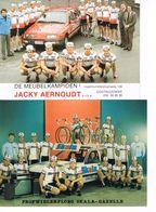 2 PHOTOS DE CYCLISME -  EQUIPE JACKY AERNOUDT - SKALA-GAZELLE - - Cycling