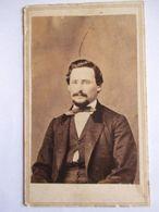 CDV  USA - Portrait Homme - Circa 1865 - Dos Muet   - BE - Foto