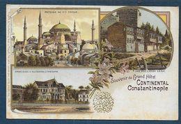 CONSTANTINOPLE - Souvenir Du Grand Hôtel Continental - Turquie