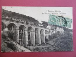 PISTOIA  ( TOSCANA ) Le SVOLTE  - Viadotto Ferroviario - Pistoia