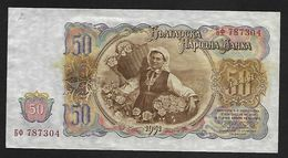 "50 Leva    ""BULGARIE""       1951   UNC  Bc28 - Bulgarien"