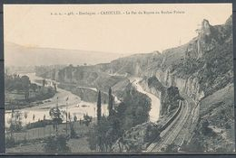 CPA [24] - CAZOULÉS - Le Pas Du Raysse Au Rocher Pointu - Sonstige Gemeinden