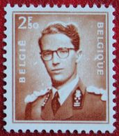 Koning Boudewijn Phosphor OBC 1028a (Mi 1075 Y) 1957 POSTFRIS MNH ** BELGIE BELGIEN BELGIUM - Belgium