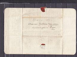 LETTRE ADRESSEE A UN DETENU POLITIQUE - Marcophilie (Lettres)