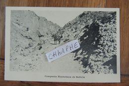 COMPANIA HUANCHACA DE BOLIVIA - CAVALIERS CHEVAUX MULES - Bolivie