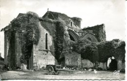 CPSM -  LA ROCHE-SUR-YON - ABBAYE DE FONTENELLES - La Roche Sur Yon