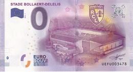 .. BILLET 2016 - 1 ... STADE BOLLAERT-DELELIS .... Racing Club De Lens .. N° UEFU003478 ... ... - EURO