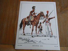 Planche De 1969 LEGION PORTUGAISE 1808/1813 - Books, Magazines  & Catalogs