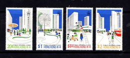 HONG  KONG    1981    Suburban  Development    Set  Of  4    MNH - Hong Kong (...-1997)