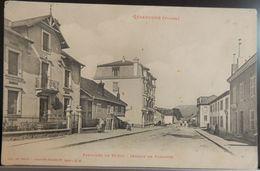 88 CPA GERARDMER FAUBOURG DE SAINT DIÉ SECTION DE FORGOTTE - Gerardmer