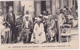 EGYPTE / TYPES ET SCENES / CAFE ARABE / LL 114 - Egypt