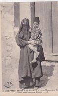 EGYPTIAN TYPES  FEMME ARABE AVEC SON ENFANT / LL 3 - Egypt