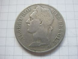 Congo Belgian , 1 Franc 1922 (french) - Congo (Belgian) & Ruanda-Urundi