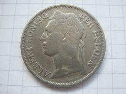 Congo Belgian , 1 Franc 1925 (flemish) - Congo (Belgian) & Ruanda-Urundi