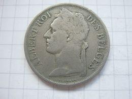 Congo Belgian , 1 Franc 1927 (french) - Congo (Belgian) & Ruanda-Urundi