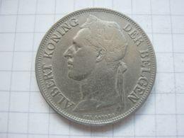 Congo Belgian , 1 Franc 1928 (flemish) - Congo (Belgian) & Ruanda-Urundi