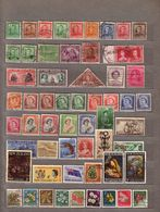 NEW ZEALAND Used Gestempeld Oblitere Different Stamps Lot #10035 - Briefmarken