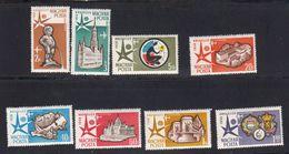 Hongrie 1958 Poste Aerienne. Yvert 198 / 205 ** Exposition De Bruxelles. - Ungarn