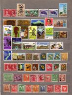 NEW ZEALAND 57 Used Gestempeld Oblitere Different Stamps Lot #10036 - Briefmarken