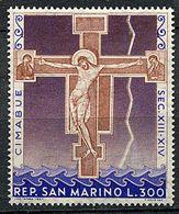 "(CL 93) St Marin ** N° 709 - ""Crucifixion"" De G. Cimabué - Neufs"