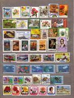 BRITISH COMMONWEALTH 48 Used Gestempeld Oblitere Different Stamps Lot #10039 - Briefmarken