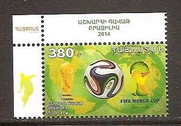 ARMENIA 2014●FIFA World Cup Brazil /Mi 889 MNH - Other