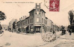 59775FourmiesRue Jean Jaurès Et Rue ThiersCirculée - Fourmies