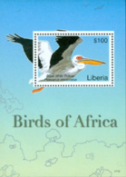 LIBERIA 2007 - Oiseaux - BF 1 - Grand Pélican Blanc - Pellicani