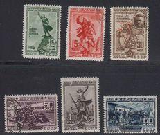 Russie URSS 1940 Yvert 804 / 809 Obliteres. 20eme Anniversaire De La Prise De Perekop Crimee - 1923-1991 UdSSR
