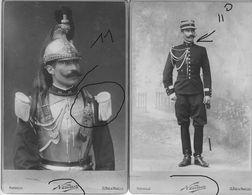 Armée Française 11 Cuirassier 1902 Capitaine Victor Franc Nadar - Guerre, Militaire