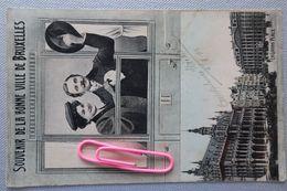 Souvenir De Bonne Ville De BRUXELLES : La Grand'place En 1906 - Events
