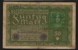 """50 Mark """" Allemagne""""   24  Juin 1919   Bc 6 - 50 Mark"""