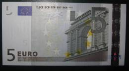 5 Euro K003A2 Ireland Serie T17001 Perfect UNCIRCULATED - EURO