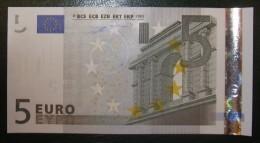 5 EURO G001B6 Netherlands Serie P Duisenberg Perfect UNC - EURO