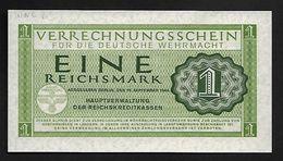 "1 Mark  "" ALLEMAGNE ""  WEHRMACHT 15 Septembre 1944 UNC     Bc 5 - [11] Emisiones Locales"