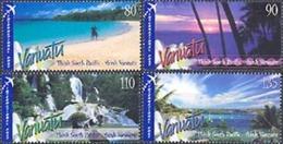VANUATU 2005 - Merveilles De La Nature - 4 V.  (par Avion) - Vanuatu (1980-...)