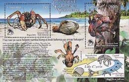 VANUATU 2008 -  Crabes De Cocotiers - Bloc - Vanuatu (1980-...)