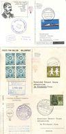 3 Cartes (Vol Ballon) Allemagne - Suisse 1957 - 1958 - Unclassified