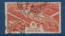 """Indochine Aerien YT 39 """" Anniversaire De La Victoire """" 1946 Oblitéré - Aéreo"""