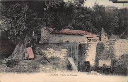CPA LAURIS - Chute Du Moulin - France