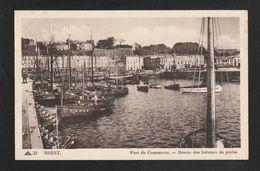 BREST Port De Commerce Bassin Des Bateaux De Peche De Douarnenez  (Très Très Bon état) U1485 - Brest