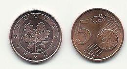 5 Cent, 2020, Prägestätte (A) Vz, Sehr Gut Erhaltene Umlaufmünze - Germany